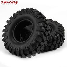 4 unids 108mm Off Road Neumáticos Neumáticos para 1/10 RC Crawler Escalada Coche 1.9 Pulgadas Ruedas