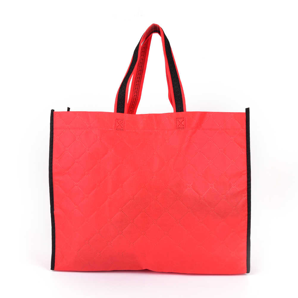 feb68034344 ... 1PCS Eco Shopping Bag Reusable Cloth Fabric Grocery Packing Recyclable  Hight Design Healthy Tote Handbag Wholesale ...