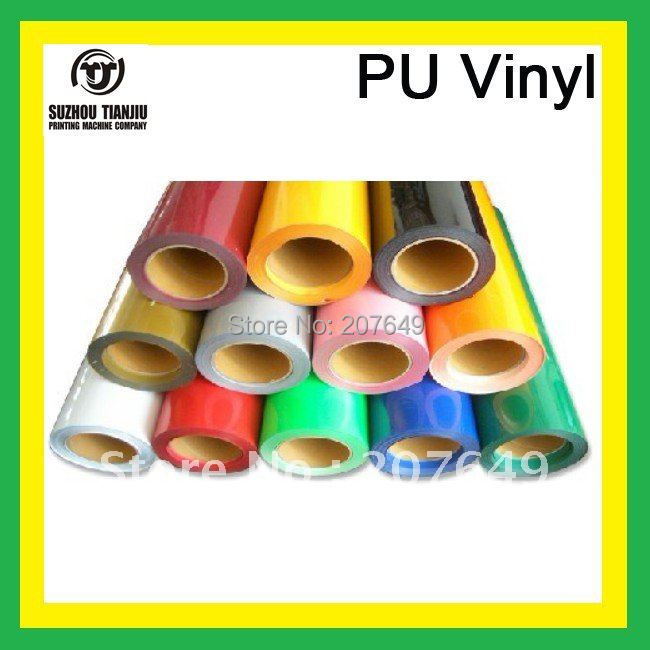 50CM X 9Meter/Roll Korea heat transfer PU vinyl for t shirts high quality heat transfer film-in Wallpapers from Home Improvement    1