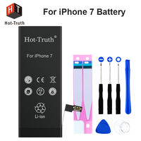 Hot Truth Internal Battery For iPhone 7 7G High Quality Li ion Battery Replacement 3.82V 1960mAh Capacity Sticker+Tools