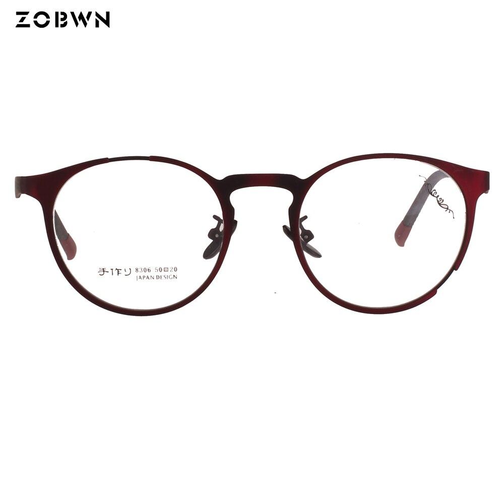 Promoção por atacado barato estoque Rodada quadros de óculos Mulheres óculos  Lunettes Óculos Vintage Retro Clássico Optical Óculos de oculos de sol em  ... 9f9cb9287f