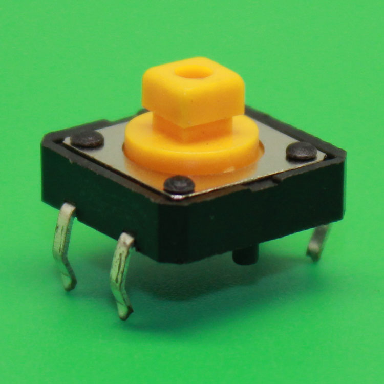 15PCS DIP 12X12X7.3 Tactile Tact Push Button Micro Switch Momentary 12*12*7.3 MM good quality