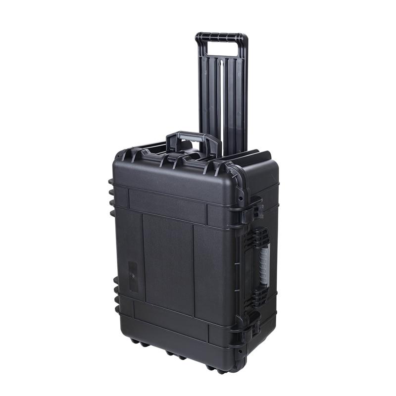 SQ1356 Internal 587x427x270mm Plastic Watertight Shockproof Tool Case Tool Box For Equipment