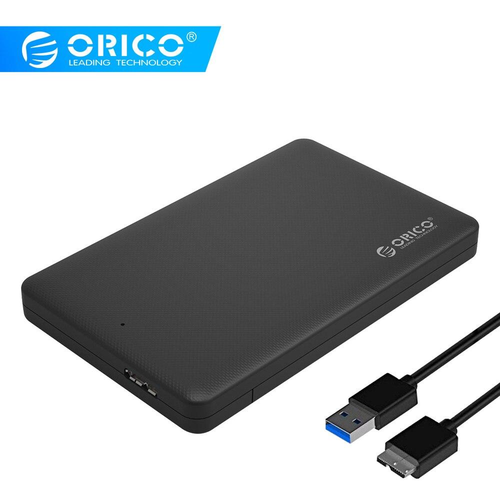 ORICO disco duro de la Caja envolvente de la Caja 2,5 USB 3,0 SATA HDD caja de disco duro HDD disco duro externo del recinto negro caso