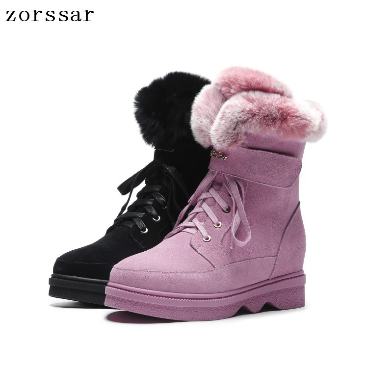 Zorssar women flat boots 2018 new arrival women winter boots warm snow boots fashion platform shoes women ankle bootsZorssar women flat boots 2018 new arrival women winter boots warm snow boots fashion platform shoes women ankle boots