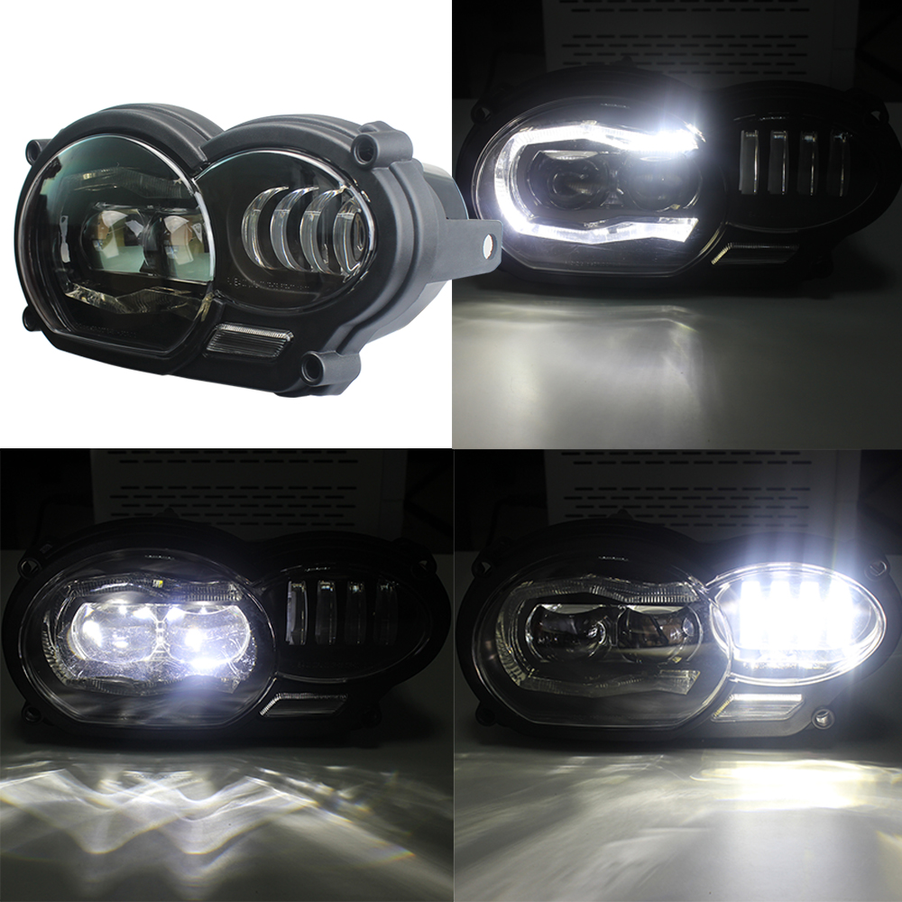 Headlight Grille Guard Protective Cover For BMW R1200GS 2004-2009 2010 2011 2012