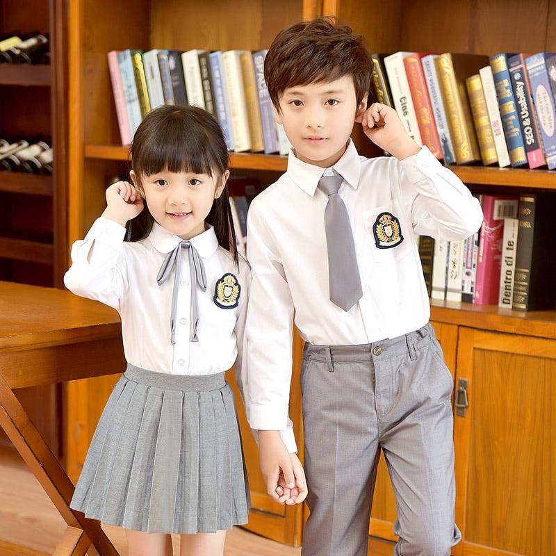 2018 winter kids children academic dress doctor school uniforms kid graduation student costumes kindergarten girl dr suit school недорго, оригинальная цена