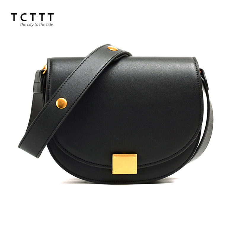 TCTTT High Quality Shoulder bag for women Split leather luxury handbags women bags designer Casual Fashion Crossbody bag Bolsas tcttt luxury handbags women bags designer fashion women s leather shoulder bag high quality rivet brand crossbody messenger bag