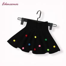 Fluffy Skirt for Girls 2017 Children's Clothing Knitting Princess Big Girl Tutu Skirt Jupe Tulle Enfant Pearls Dot Pettiskirt