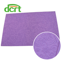 580 380mm Cake Decorating Tools Lace Flower Molds Mat Baking Tools For Cakes Fondant Silicone Molds