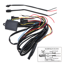 цена на 1Pc Strobe Controller Car Cable Wiring LED Daytime Running Light Relay Harness Kit Dimmer Blasting Controller Fog Light Car Wire