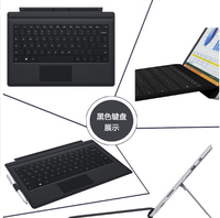 New Fashion Original Physical Keyboard Station Official Stand Type Cover Case For Microsoft Surface Pro 3