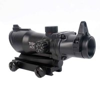 WIPSON ACOG 1X32 Cross Grid Red Dot Sight Optical Rifle Scopes ACOG Red Dot Scope Hunting Scopes With 20mm Rail for Airsoft Gun