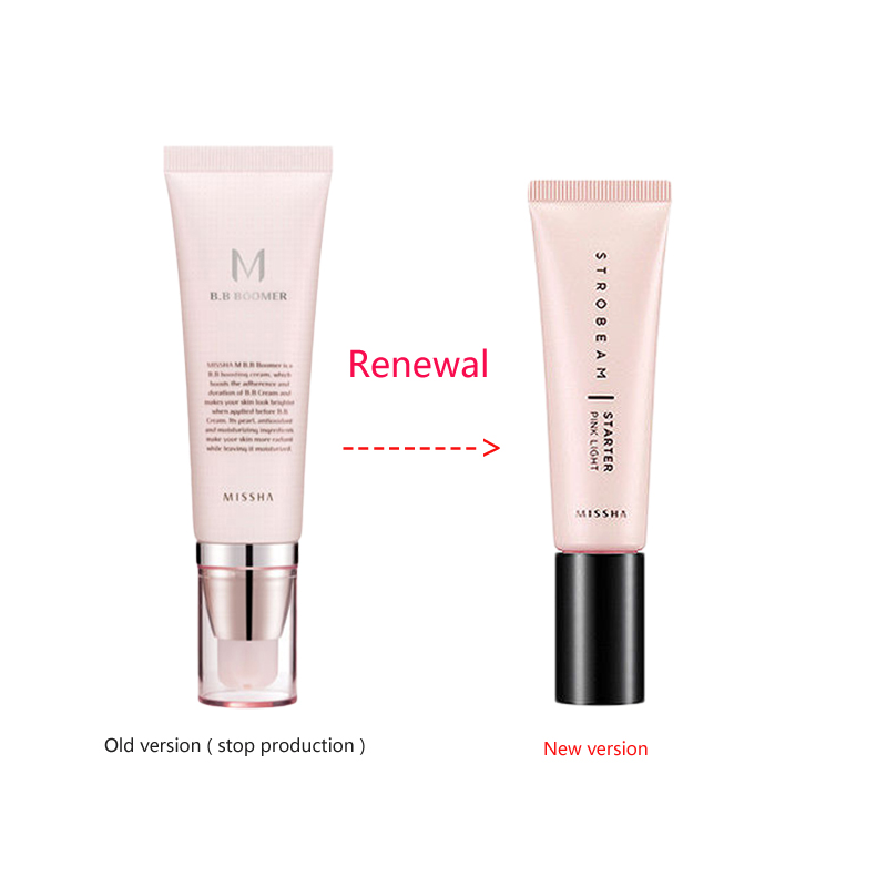 MISSHA BB Boomer Blemish Balm Primer Makeup Face Cover Pore Whitening Concealer Foundation Base ( Send New Version )