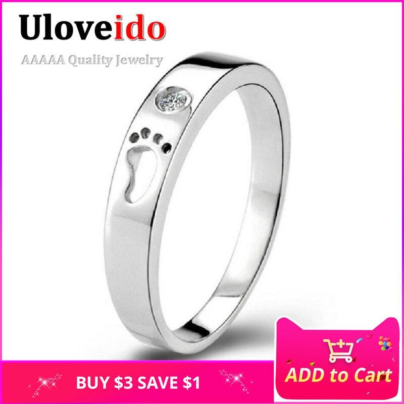5a9741f56d Um Anel de Jóia de Cristal Do Dedo Do Pé Partido Unisex Mens Anéis para  Mulheres