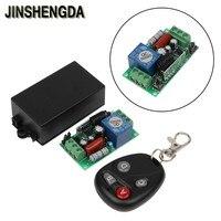JINSHENGDA Télécommande AC 220 V 10A 1CH RF Télécommande Sans Fil Commutateur 4 Récepteur + 2 Émetteur