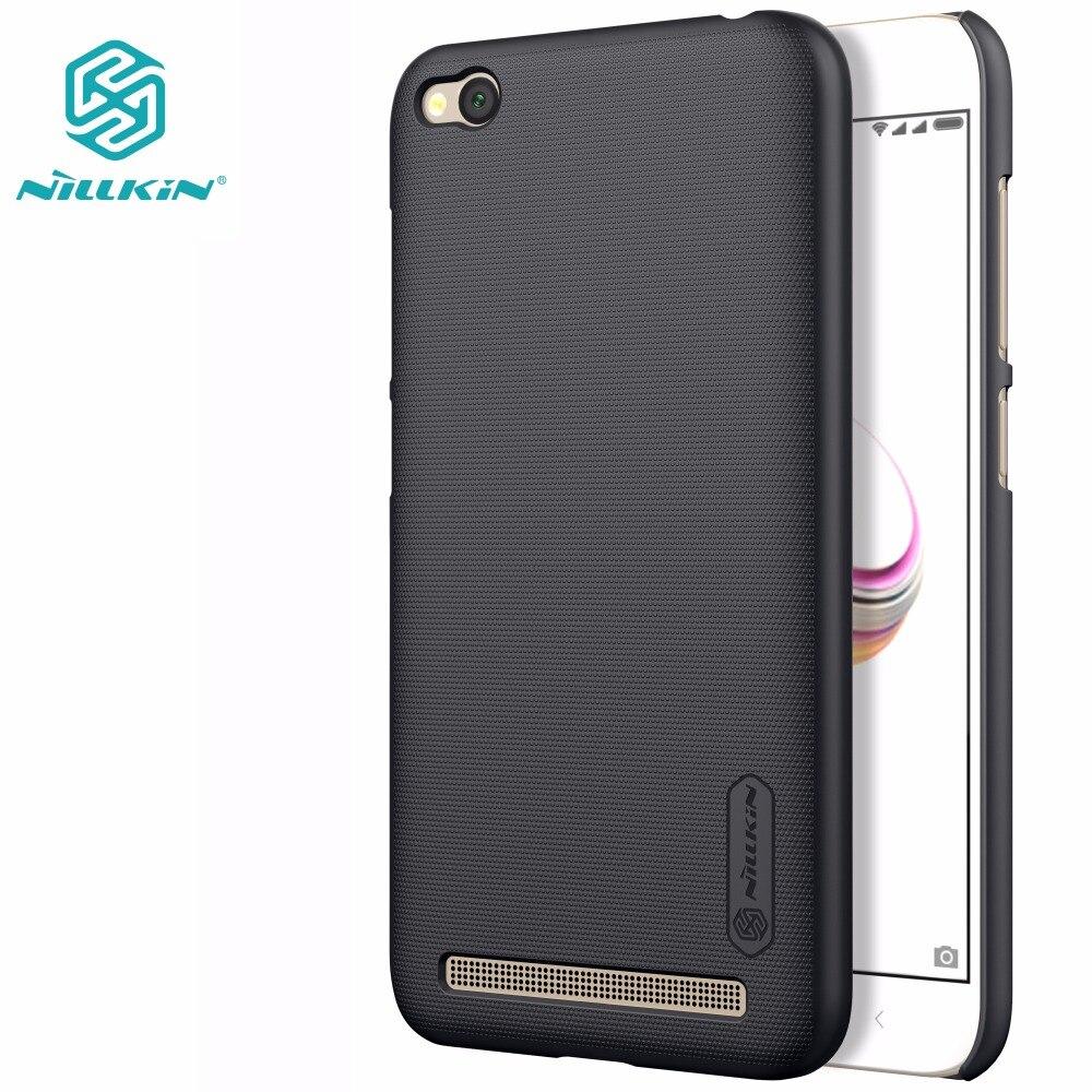 NILLKIN xiaomi redmi 5A case xiaomi redmi5A cover Super Frosted Shield hard matte back cover with free screen protector