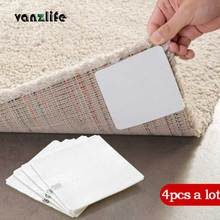 vanzlife fixed carpet super viscous double-sided adhesive strong mat  tape anti-slip paste ground non-woven tape 4 pieces a lot