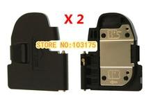 2 PCS/New Cap Lip Substituição da Tampa Da Porta Da Bateria para Canon 5D Mark II 5D2 5DII Câmera