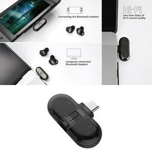 Image 4 - ALLOYSEED receptor de auriculares inalámbrico por Bluetooth adaptador de transmisor de Audio tipo C para Nintendo Switch