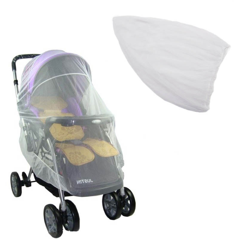 Summer Safe Baby Carriage Insect Full Cover Mosquito Net Baby Stroller Bed Netting 88 Hot Sale