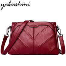 3-in-1 Luxury Leather Handbags Women Bags Designer Messenger Spring Female Shoulder Bag For Ladies 2019 Handbag