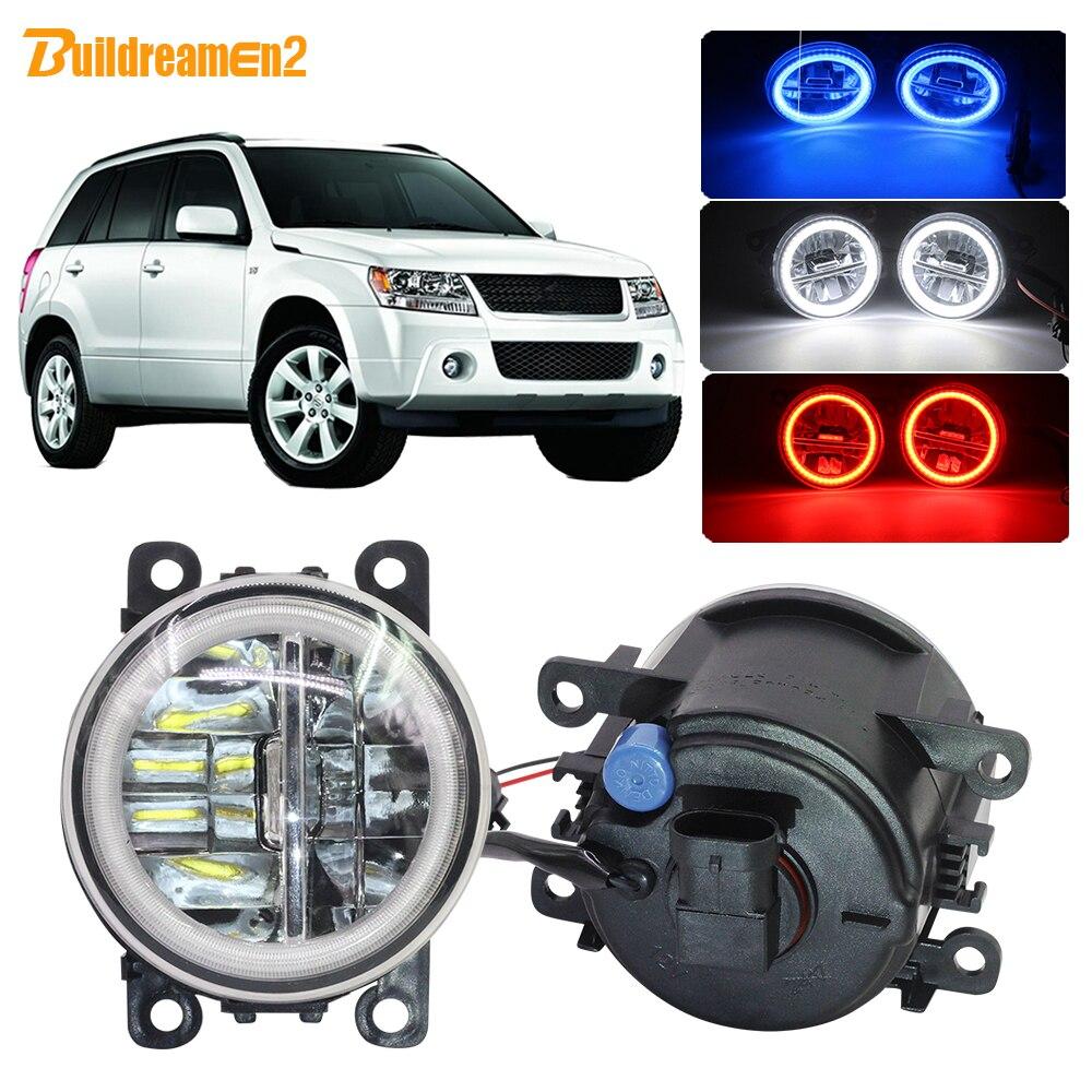 4dr Sedan ONLY, No Hatchbacks 2006-2012 NICECNC Car Front Driving Foglight Fog Light Lamp /& Wiring /& Switch Kit for Suzuki Grand Vitara /& SX4 4dr Sedan