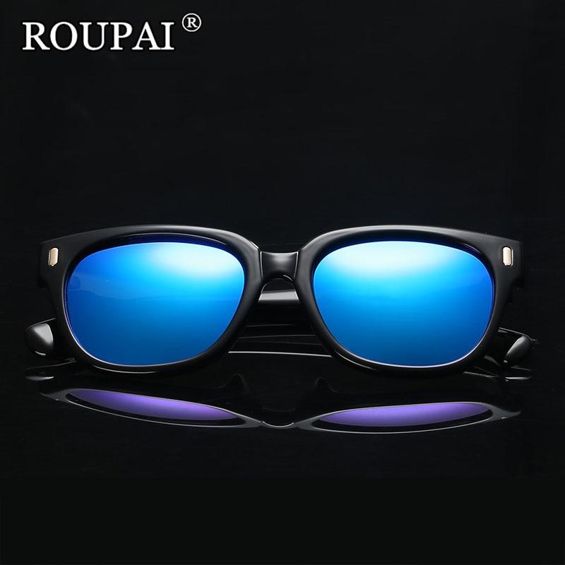 ROUPAI 2017 New Fashion Unisex Polarized font b Sunglasses b font Women Brand Designer Sun Glasses