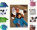 Nova moda dos desenhos animados forma animais crianças criança crianças fronha de algodão fronha impresso roupa de cama para o bebê meninas e meninos