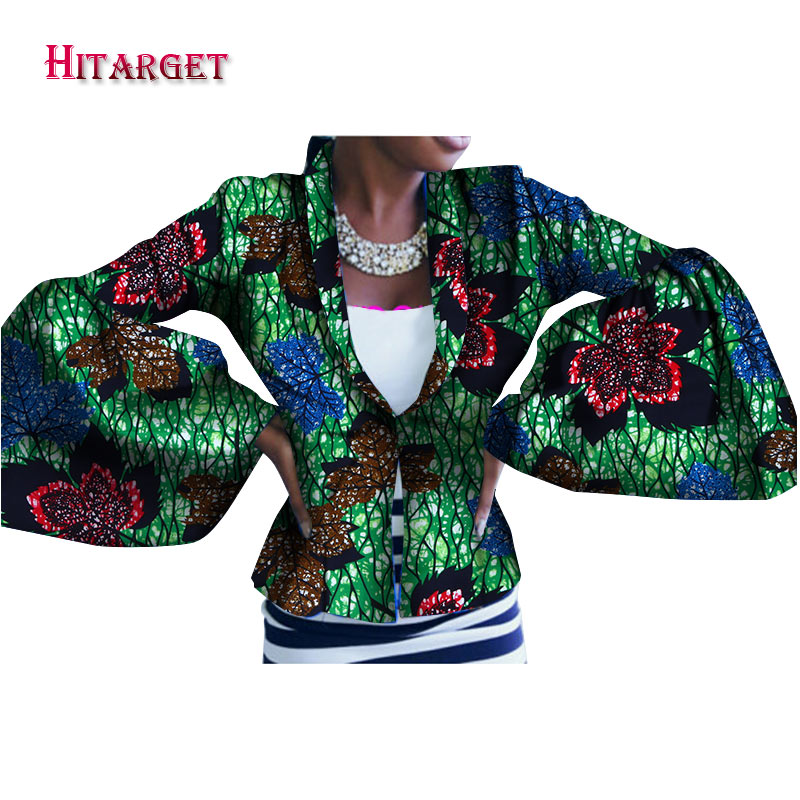 Hitarget African blazer women fashion african print dashiki jacket tailor made blazers of africa Traditional clothing WY2077 in Africa Clothing from Novelty Special Use