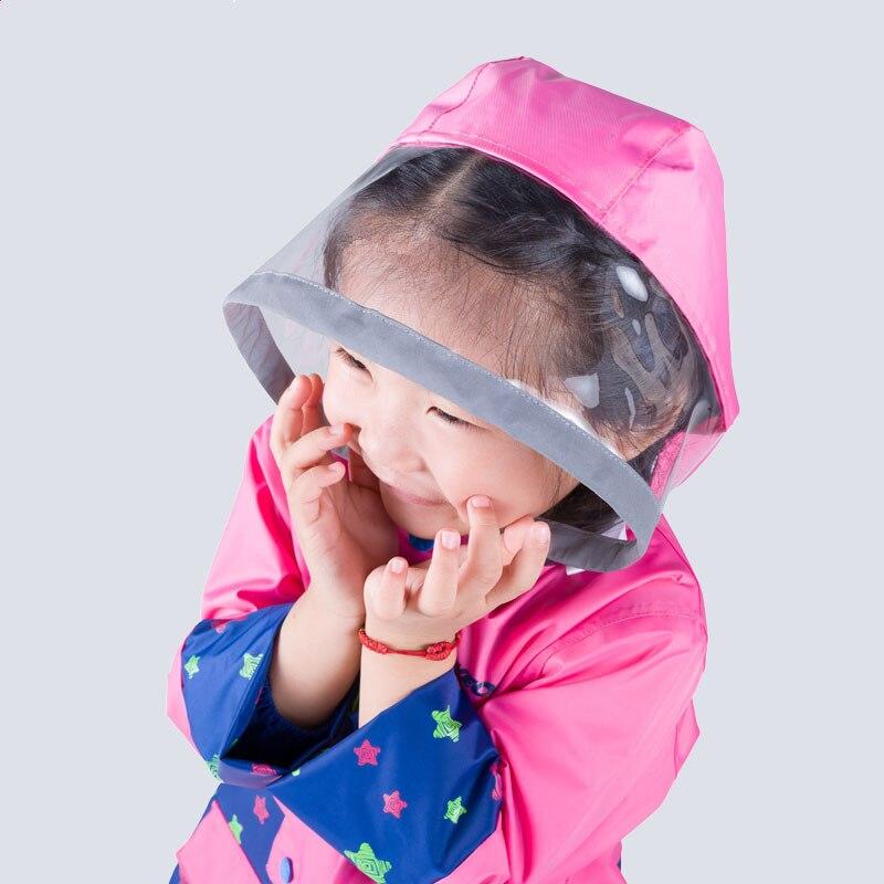 Merek baru Kedap Jas Hujan untuk Anak anak Jas Hujan Ponco Jaket Set - Barang-barang rumah tangga