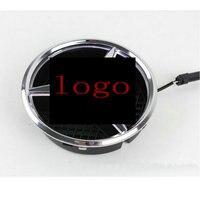 Free Shipping Car Styling Emblem Badge LED Illuminated Star Kit For Mercedes W164 ML350 2011