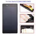 Display lcd touch screen substituição digitador assembléia + quadro para sony xperia z5 e6683 e6653 e6603