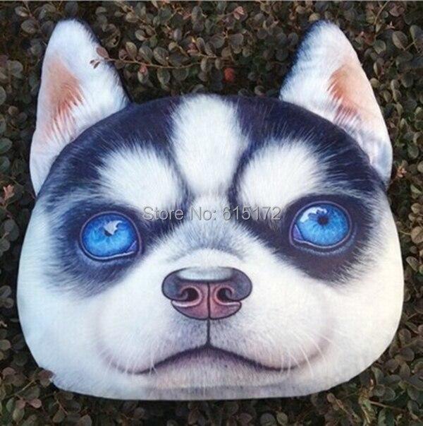Us 44 66 Novelty Item Birthday Gift Kawaii Cute Black White Husky Dog Toy Plush Soft Puppy Stuffed Animal Pillow Cushion For Kid Adult In Stuffed