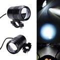 2 pcs À Prova D' Água Da Motocicleta U1 Arma Laser Farol Motor Elétrico de Alumínio Luz do Ponto de Luz para Bicicleta/ATV/Moto 12 ~ 36 V