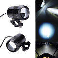 2 pcs Waterproof Motorcycle U1 Laser Gun Aluminum Headlight Electric Motor Light Spot Light for Bicycle/ATV/Motorcycle 12~36V