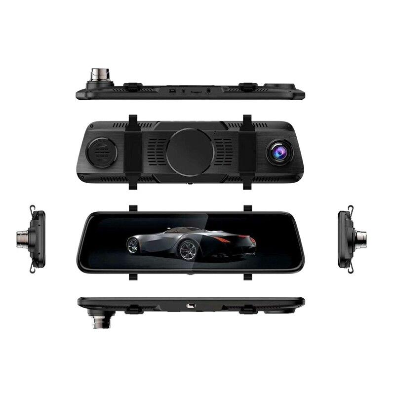 10 дюймовая шпилька для 2.5D потоковый медиа Регистраторы со сверхвысоким разрешением Ultra Hd, Матовый объектив с двумя объективами Автомобильн