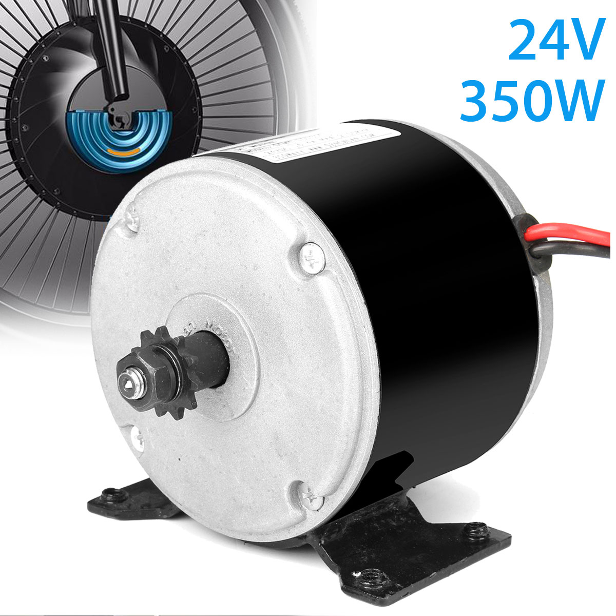 1 pcs Brand New High Quality 24V 350W DC Motor Permanent Magnet Generator Micro Motor for DIY