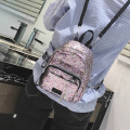 Fashion sequins Backpack Portable mini bag Ladies leisure backpacks Lovely little girl Backpack women small bag 969