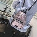 Lantejoulas moda Mochila Portátil mini saco Das Senhoras de lazer mochilas Linda pequena Mochila menina mulheres pequeno saco 969
