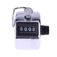 Мини-Цифровой ручной счетчик 4 цифр, ручной счетчик, ручной подсчет, гольф-кликер 0-9999