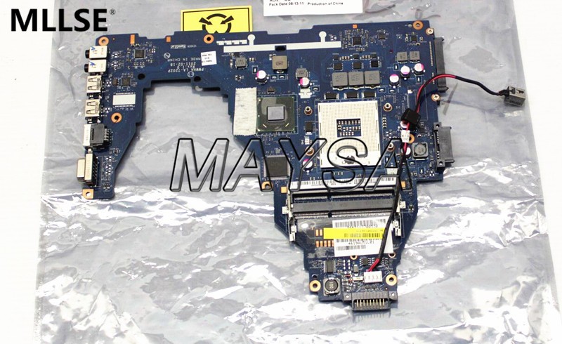 K000124370 LA-7202P Laptop Motherboard Fit For Toshiba Satellite C660 Main Board HM65 DDR3 GMA HD3000 nokotion sps t000025060 motherboard for toshiba satellite dx730 dx735 laptop main board intel hm65 hd3000 ddr3