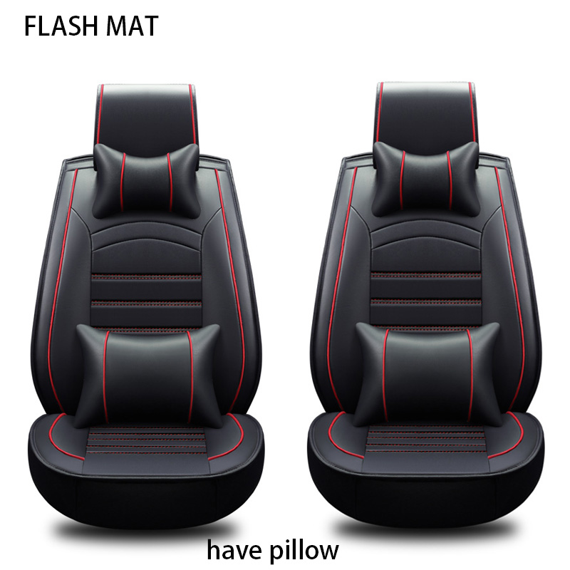 Universal car seat covers for ford fiesta ford ranger focus 2 mk2 mondeo mk3 mk4 kuga Auto accessories