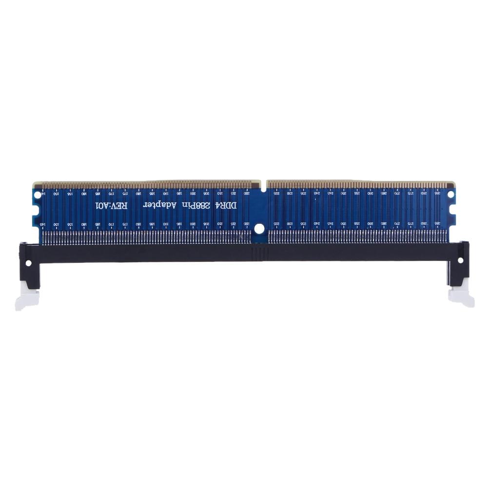 288Pin DDR4 font b Desktop b font font b Memory b font Chip Bar Adapter Card