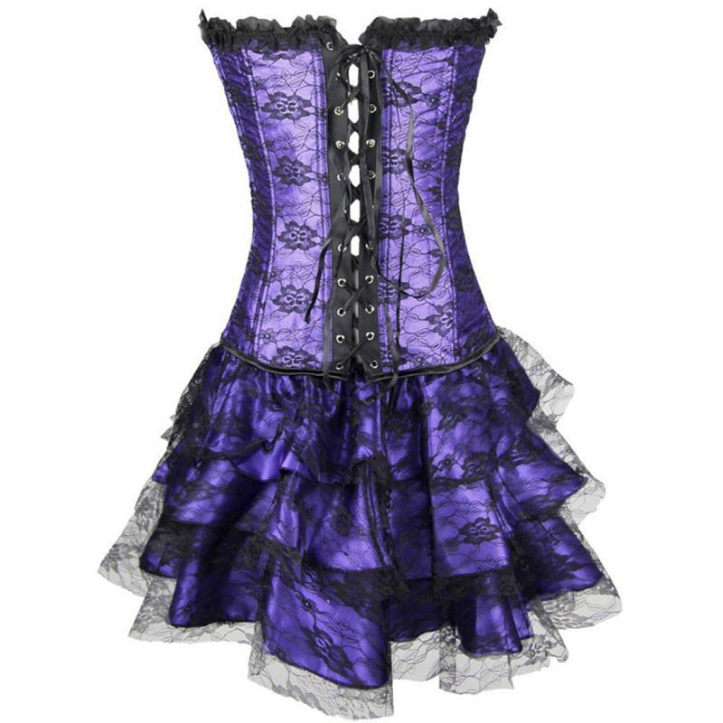 Popular Purple Corset Dress-Buy Cheap Purple Corset Dress lots ...