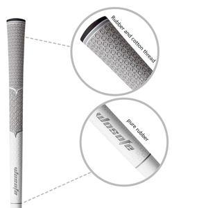 Image 2 - Empuñaduras de goma para palos de Golf, antideslizantes, de algodón, suaves, profesionales