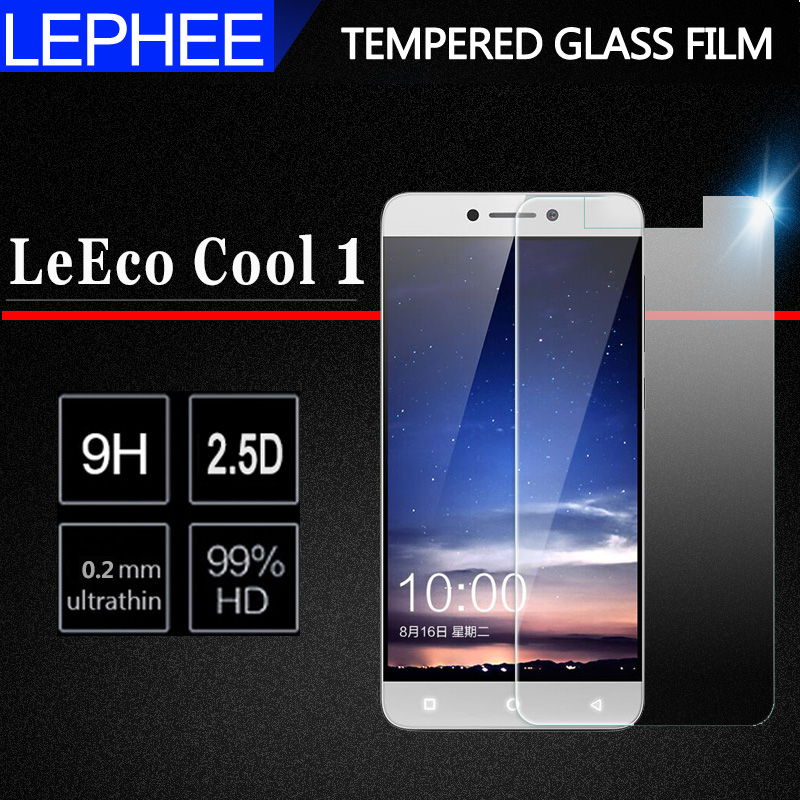 2PCS For LETV LeEco Cool 1 Tempered Glass Screen Protector For CoolPad Cool 1 Cool1 Dual Glass For Letv LeEco Cool 1 Film Glass(China)