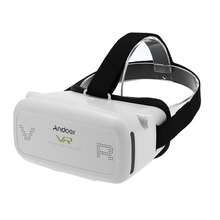 Andoer 3D VRแว่นตาหัวติดความจริงเสมือนวิดีโอกล่องภาพยนตร์เกมโฮมเธียเตอร์3Dหมวกสำหรับ4.7 ~ 6.0นิ้วโทรศัพท์สมาร์ท