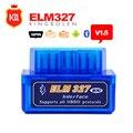 V1.5 Super MINI ELM327 Bluetooth DEL OLMO 327 Versión de alta Calidad 1.5 OBD2/OBDII para Android Torque Car Del Lector
