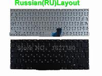 New RU Russian Keyboard For APPLE Macbook Pro A1502 BLACK For Backlit RU Laptop Keyboards